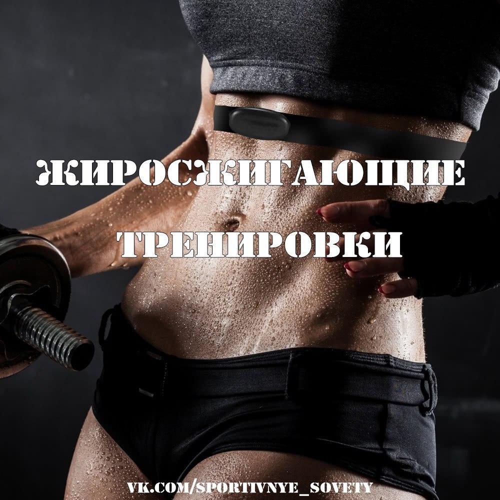 упражнения для сжигания жира в зале его
