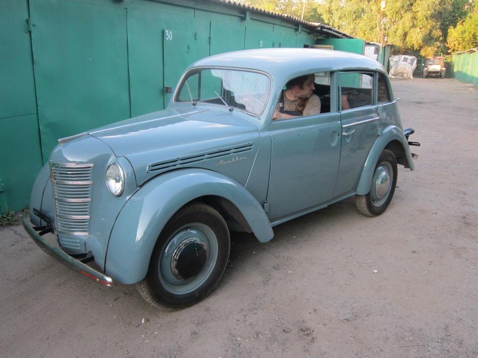 "Реставрация автомобиля ""Москвич-401"""