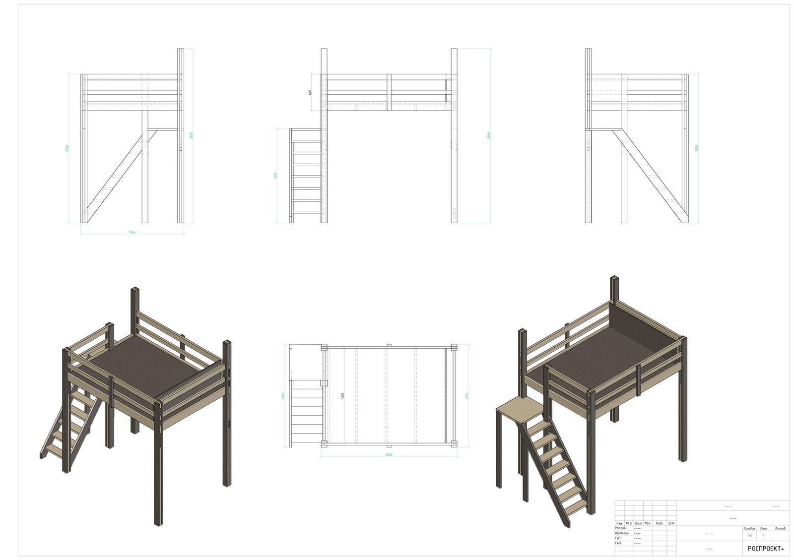 Кровать-чердак своими руками кровати, кровать, очень, досок, фанеры, доски, принципе, детали, которые, будет, конечно, стойки, чтобы, просто, листы, этого, стойка, сразу, крепления, сечением