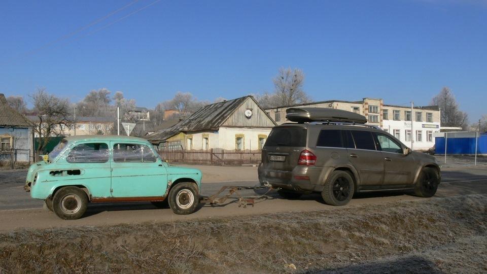 Реставрация ЗАЗ-965 Ялта