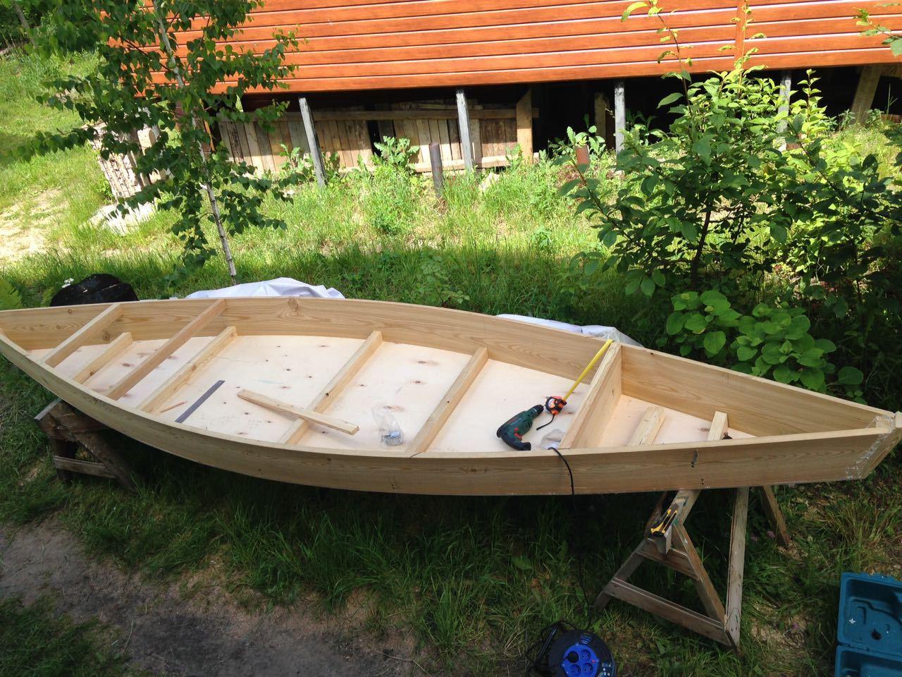 Построить лодку плоскодонку своими руками фото 718