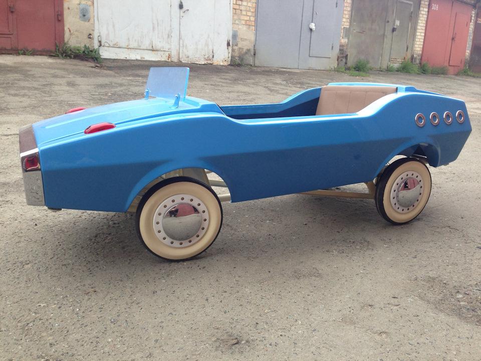 Реставрация педальной машины