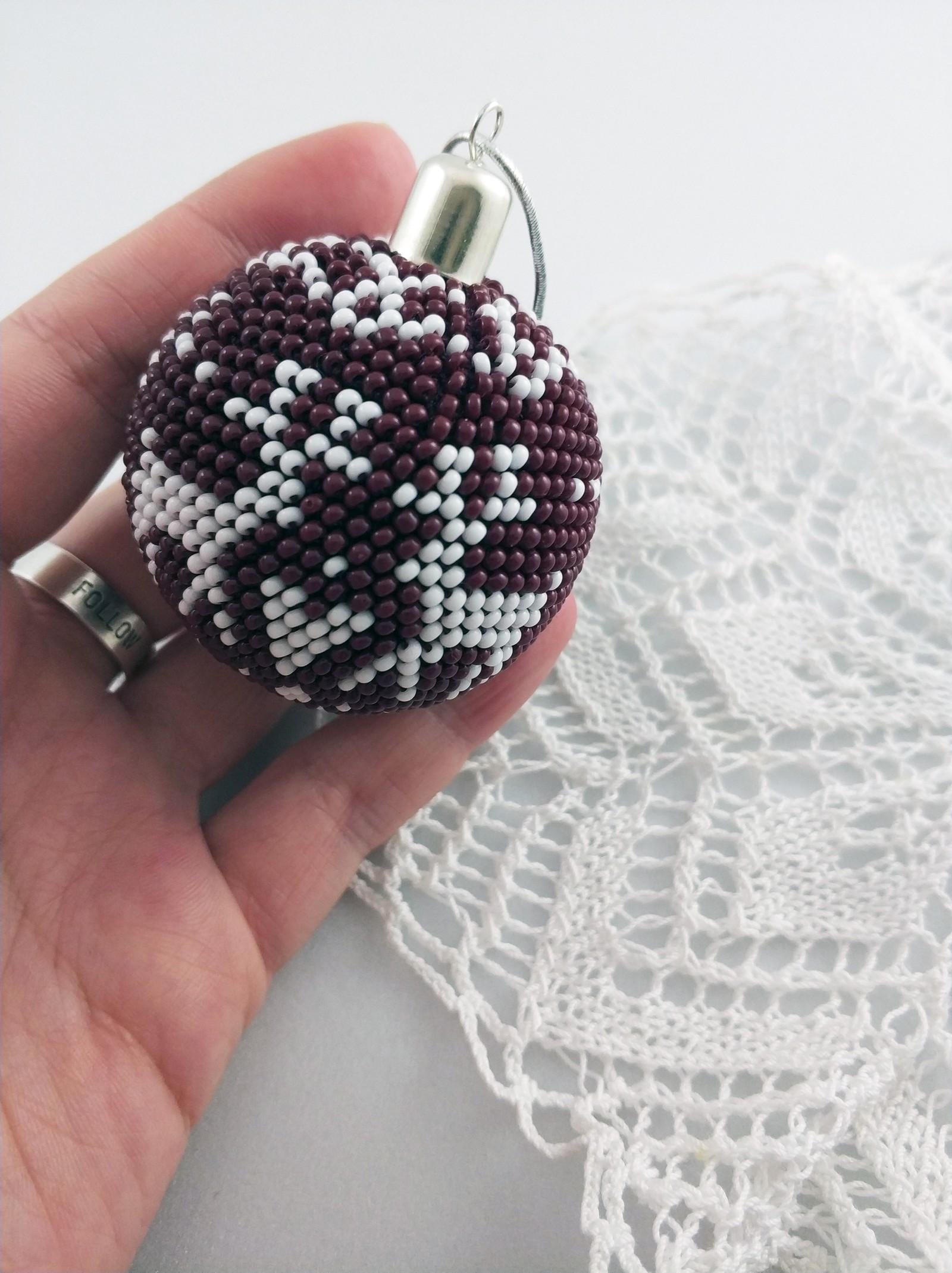 Схема шариков из бисера фото 233