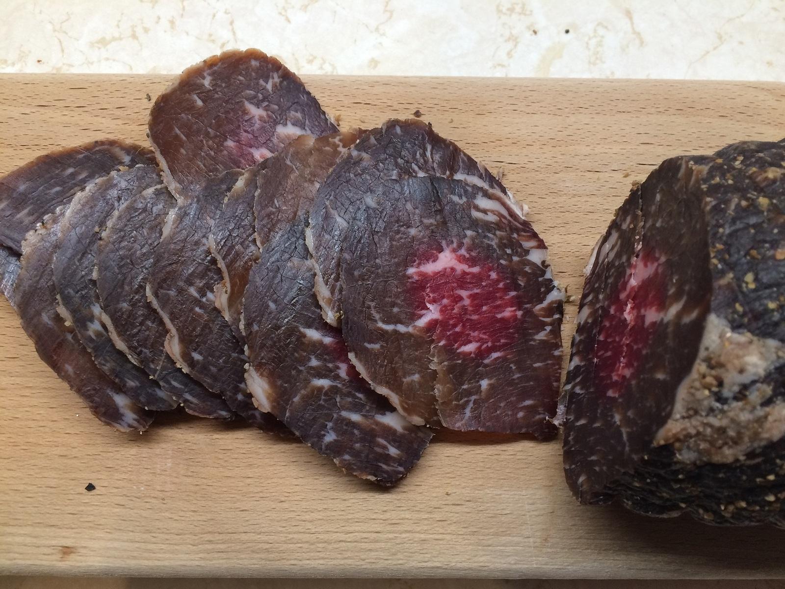Как сделать вяленое мясо из мраморной говядины