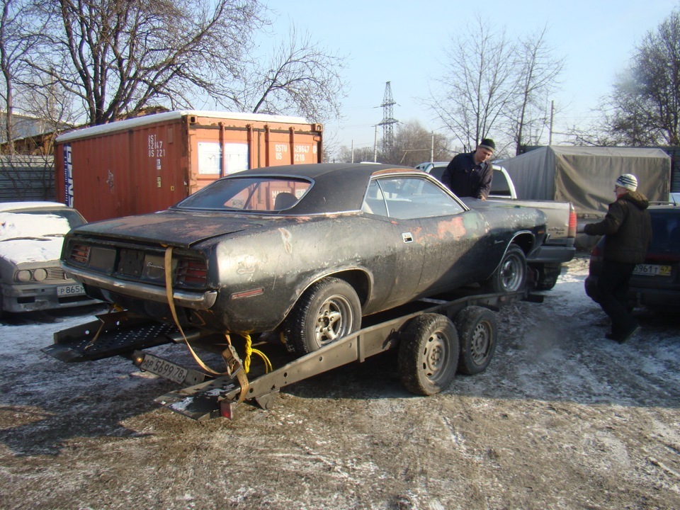 Plymouth Barracuda Restoration