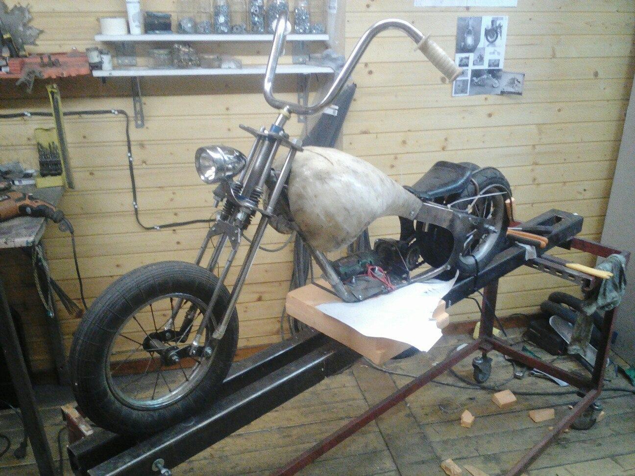 Как сделать чоппер из велосипеда фото 758