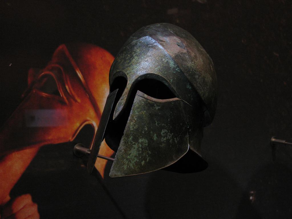 Обои гоплит, рисунок, Античность, Коринфский шлем, Древняя Греция, «воин»). Разное foto 12