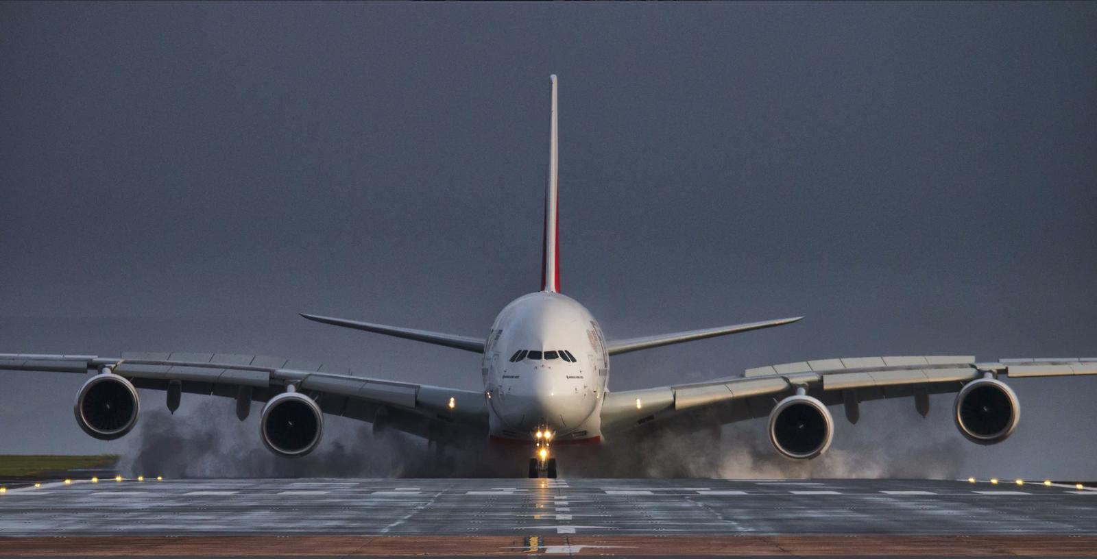 Обои 380, А-380, Самолёт, аэробус. Авиация