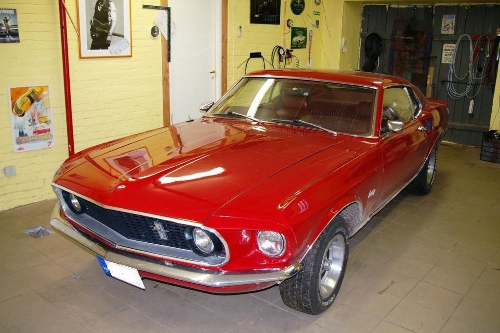 Реставрация Ford Mustang 1969