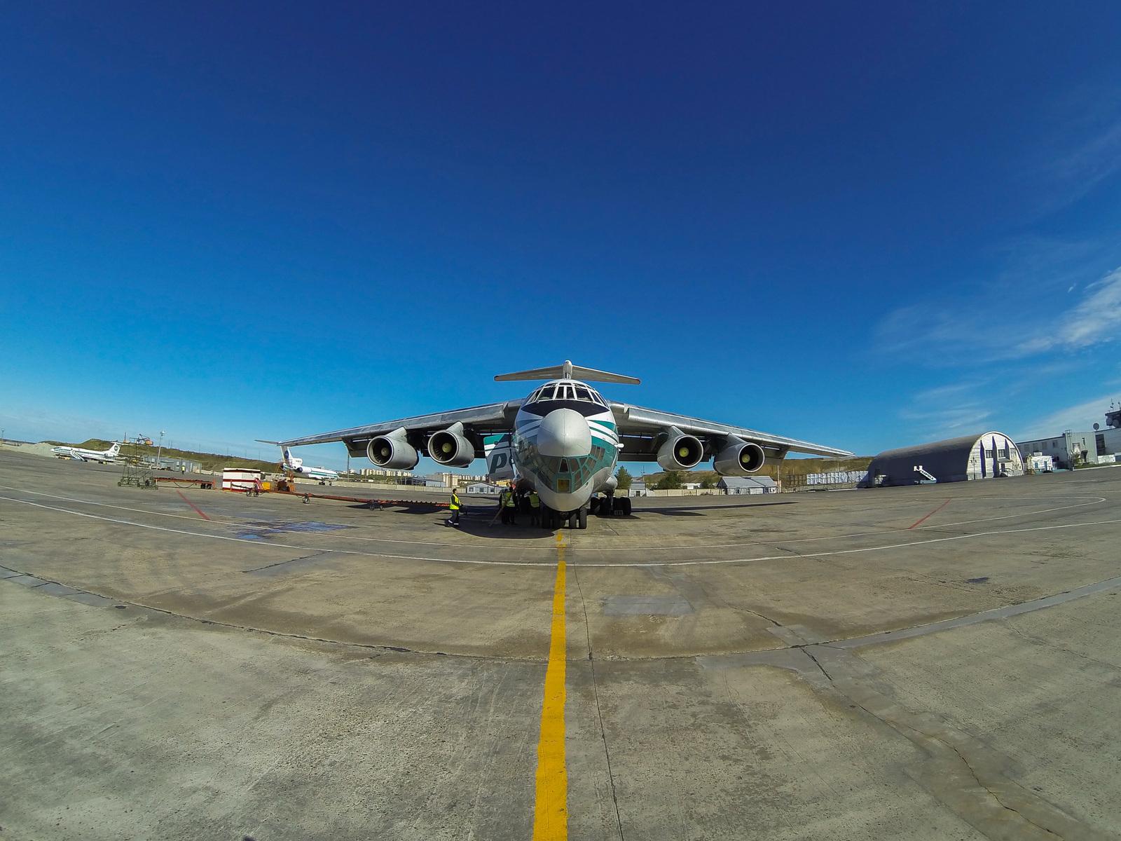 Обои Самолёт, Il-76, ВВС Украины, Ильюшин, Военно-транспортный. Авиация foto 12