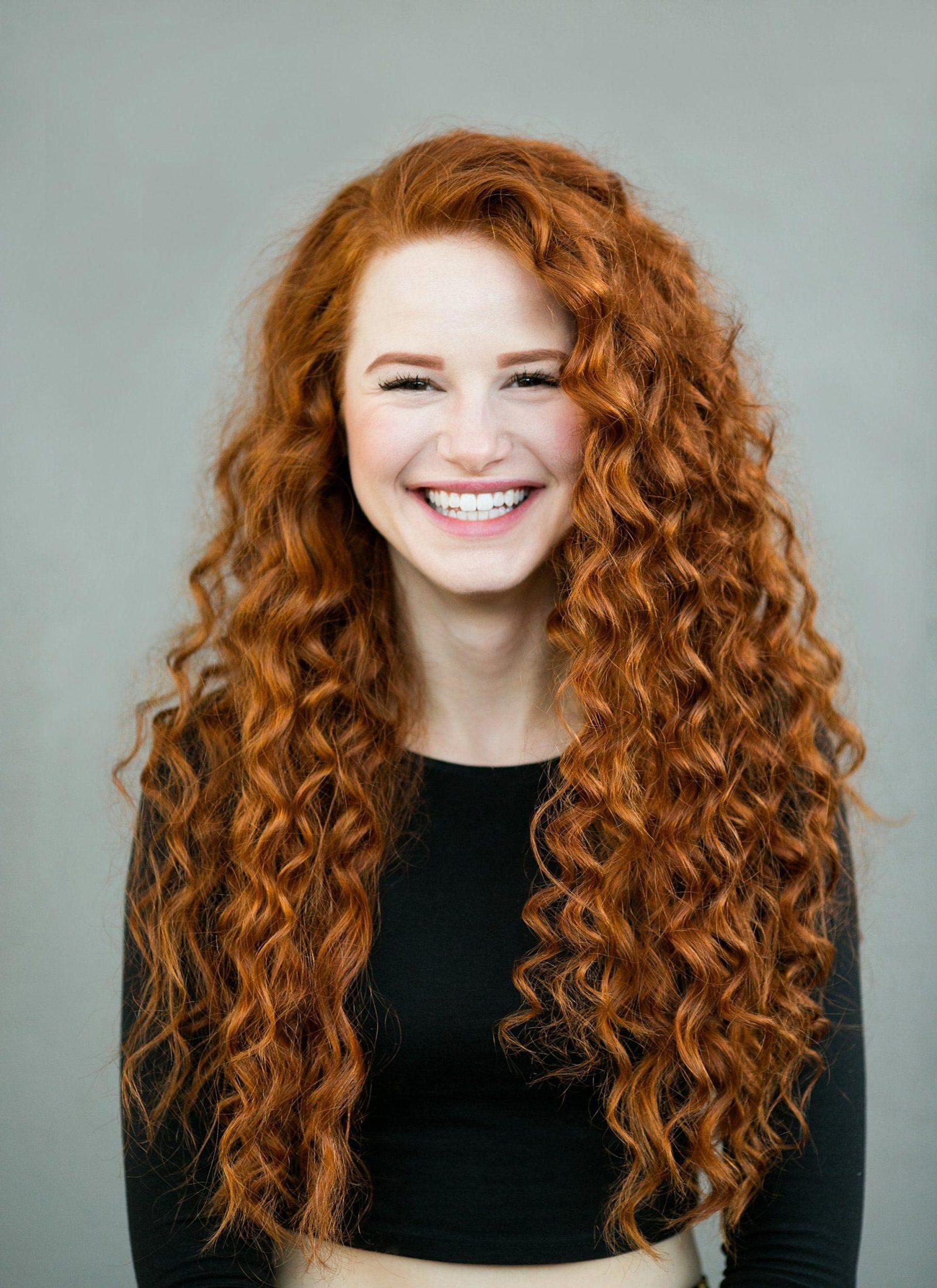 красивые фото рыжие волосы