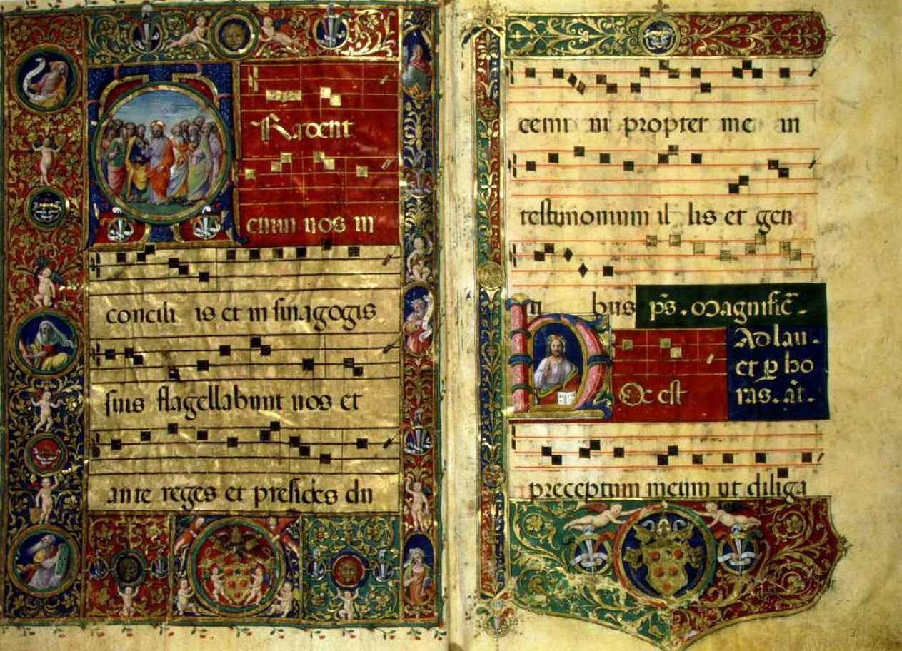 Церковная музыка средневековья доклад 2827