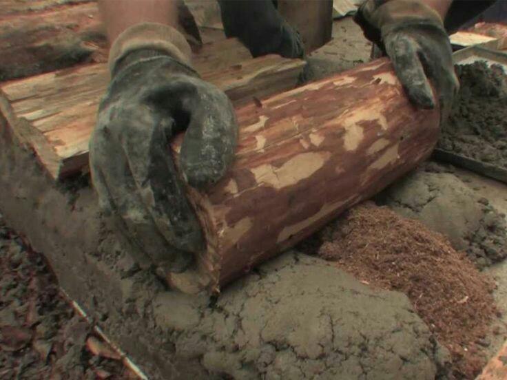 глина вместо бетона