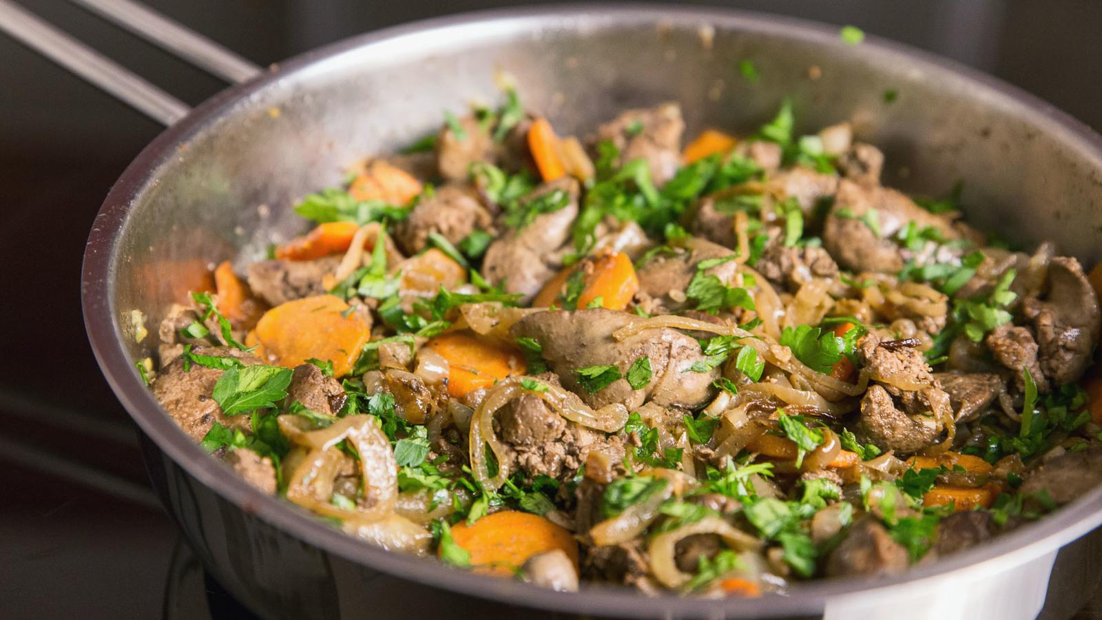 Быстрые рецепты из куриной печени