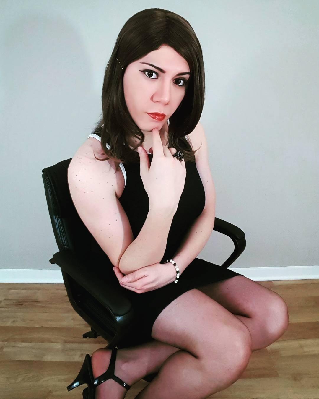 Девушка транс в чате