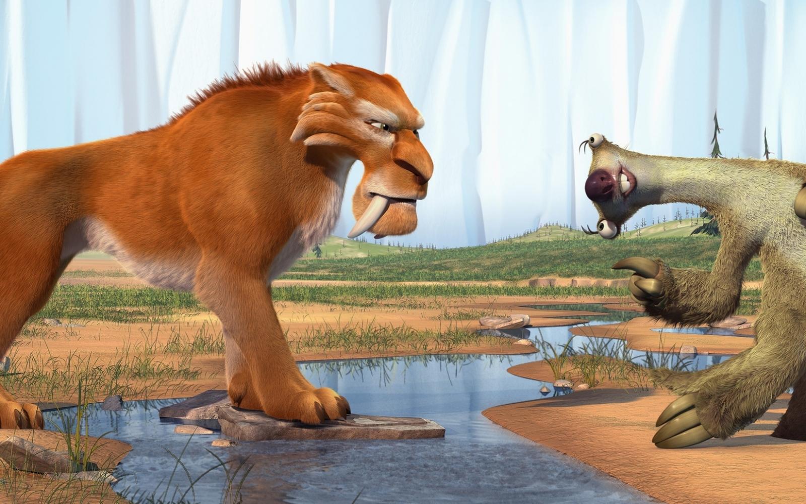 Тигры из мультфильма ледниковый период фильм где уилл смит летает