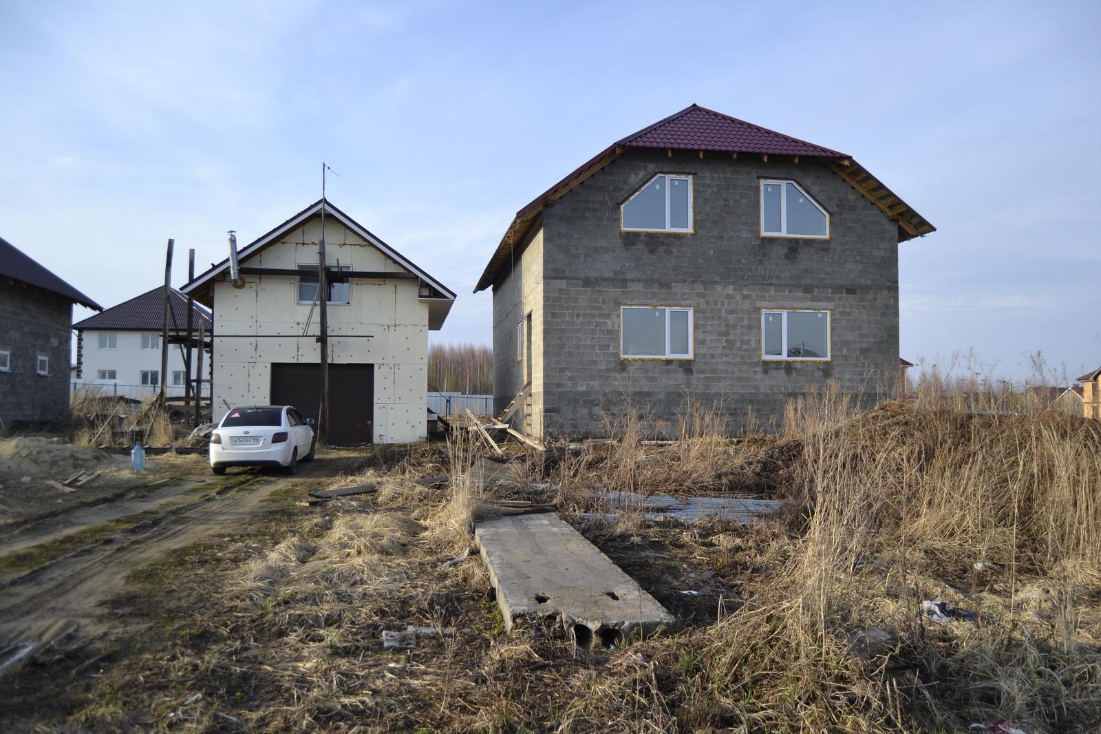Частный дом строительство своими руками фото 198