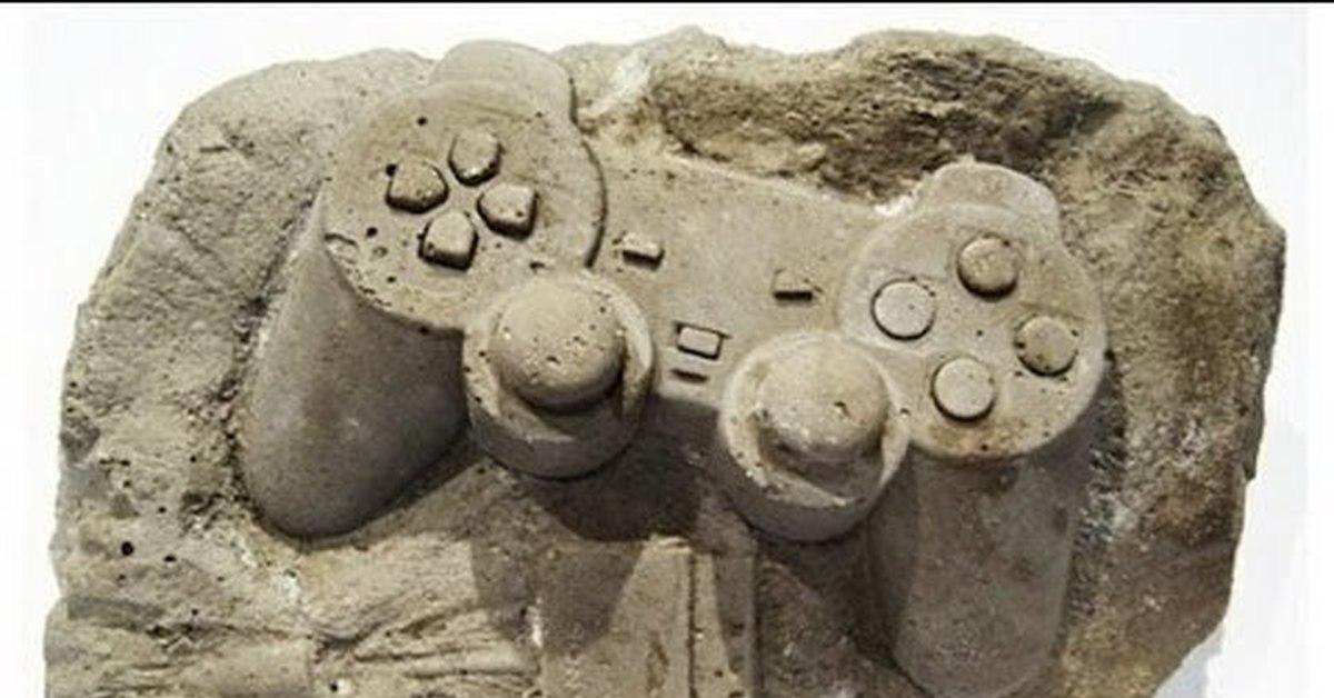 Археологические находки будущего - фото креатив.