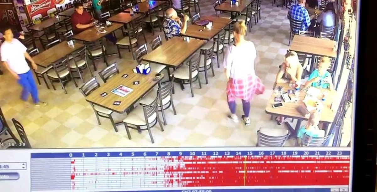 Restorane vykstantys keisti dalykai ne juokais išgąsino klientus: apsaugos kameros užfiksavo kai ką bauginančio