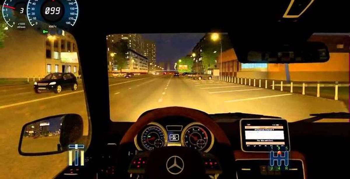 Видео игра вождение автомобиля